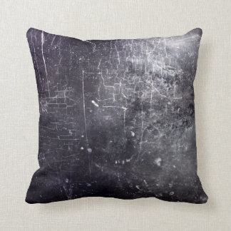 Vintage Gothic Grunge Old Leather Throw Pillow