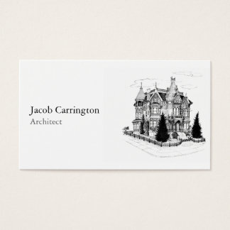 Vintage Gothic Home 1885 Business Card