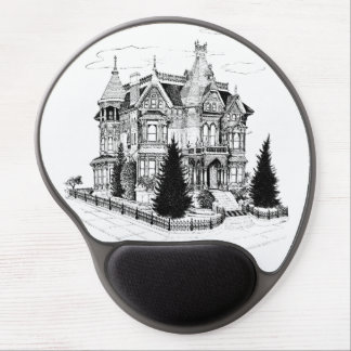 Vintage Gothic Home 1885 Gel Mouse Pad