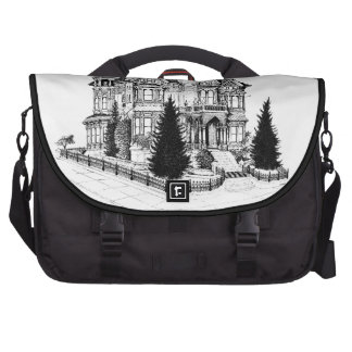 Vintage Gothic Home 1885 Laptop Bags