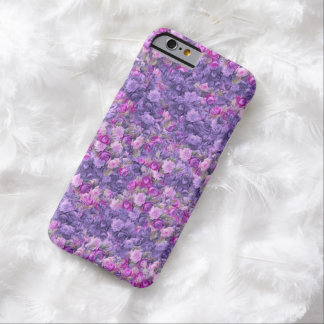 Vintage Gothic Rose Lavender Purple Barely There iPhone 6 Case