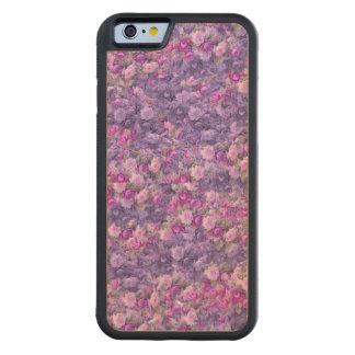 Vintage Gothic Rose Lavender Purple Carved® Maple iPhone 6 Bumper Case