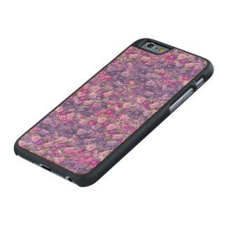 Vintage Gothic Rose Lavender Purple Carved® Maple iPhone 6 Slim Case