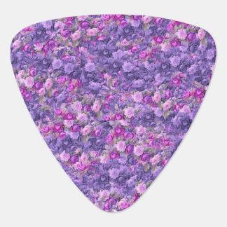 Vintage Gothic Rose Lavender Purple Pick