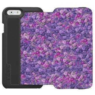 Vintage Gothic Rose Lavender Purple iPhone 6/6s Wallet Case