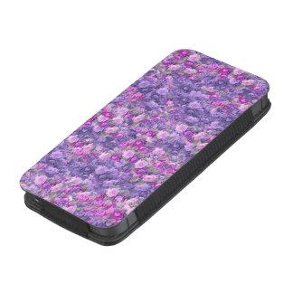 Vintage Gothic Rose Lavender Purple iPhone SE/5/5s/5c Pouch