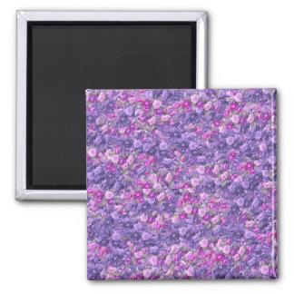 Vintage Gothic Rose Lavender Purple Magnet