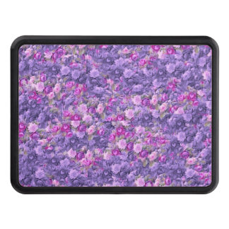 Vintage Gothic Rose Lavender Purple Trailer Hitch Covers