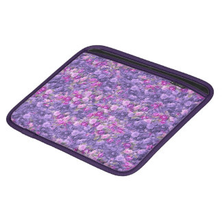 Vintage Gothic Rose Lavender Purple Sleeves For iPads