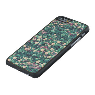 Vintage Gothic Rose Purple Faded Jade Carved® Maple iPhone 6 Slim Case