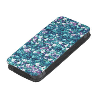 Vintage Gothic Rose Purple Faded Jade iPhone SE/5/5s/5c Pouch