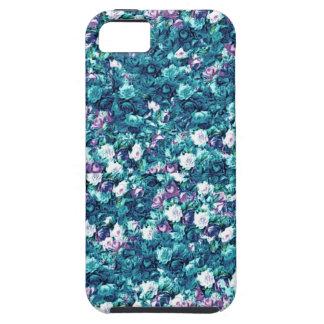 Vintage Gothic Rose Purple Faded Jade iPhone SE/5/5s Case