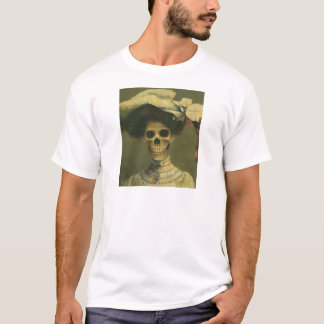 Vintage Gothic Skeleton Lady T-Shirt