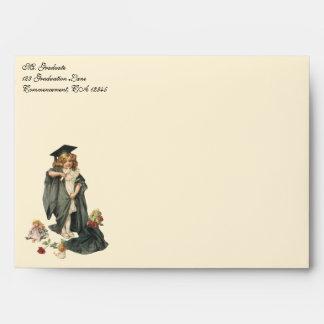 Vintage Graduation, Congratulations Graduates! Envelope