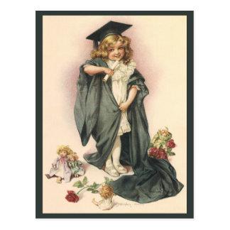 Vintage Graduation, Congratulations Graduates! Postcard