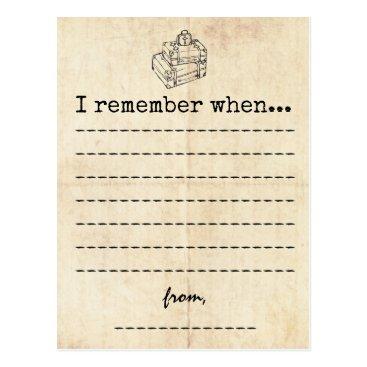 ericksondesigns Vintage Graduation Memory Card