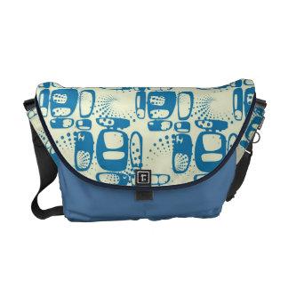 Vintage Graffiti seamless pattern Messenger Bag