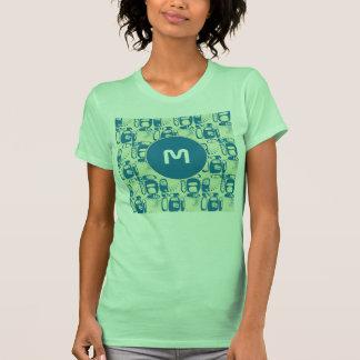 Vintage Graffiti seamless pattern T-shirts