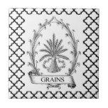 Vintage Grains Tile