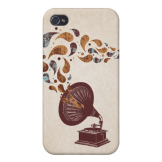 Vintage Gramophone 4/4S iPhone 4/4S Cases