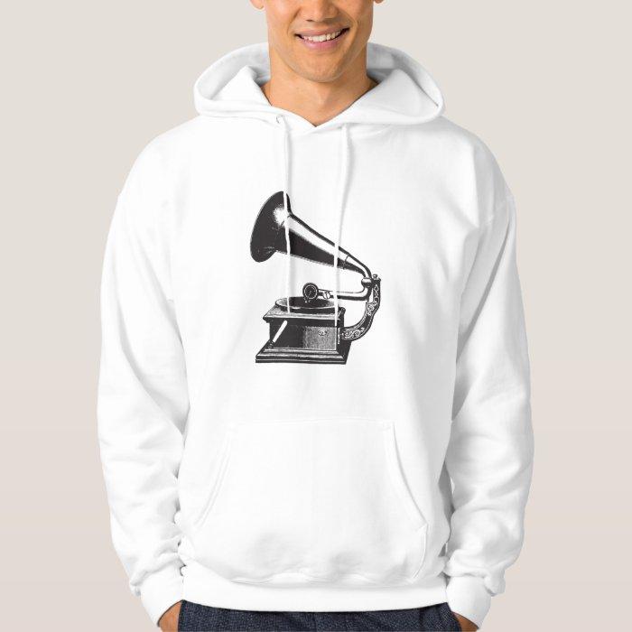 Vintage Gramophone Hoodie