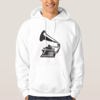 Vintage Gramophone Hoody