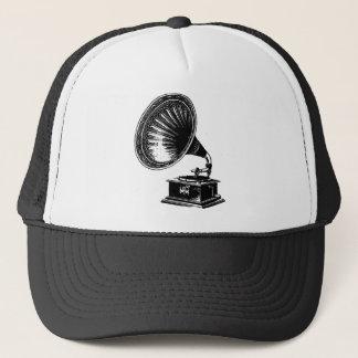 Vintage Gramophone Trucker Hat