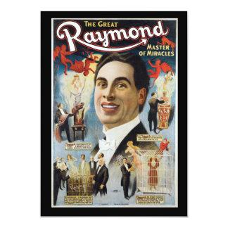 """Vintage gran Raymond, amo de milagros Invitación 5"""" X 7"""""""
