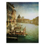 Vintage Grand Canal Poster