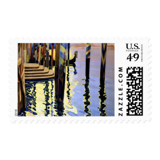Vintage Grand Canal Venice Italy Postage