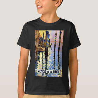 Vintage Grand Canal Venice Italy Travel T-Shirt