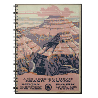 Vintage Grand Canyon Art Note Books