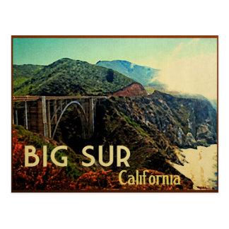 Vintage grande de Sur California Tarjeta Postal