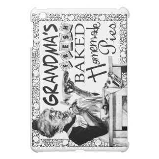 Vintage Grandma's Homemade Pies Gifts iPad Mini Cases