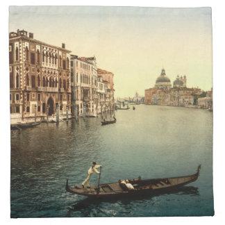 Vintage Grands Canal Venice II Cloth Napkin