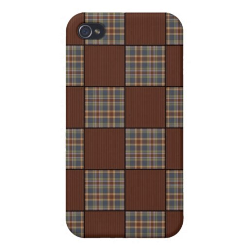 Vintage GranMa's Patch Quilt iPhone4 case Case For iPhone 4