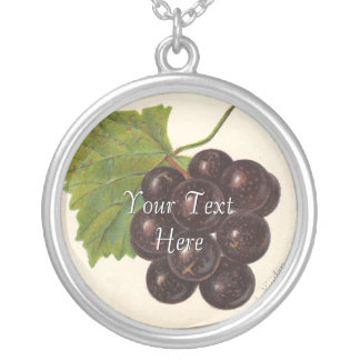 Vintage Grapes Necklace