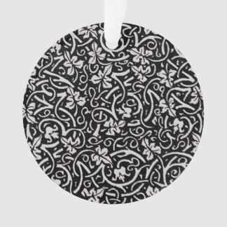 Vintage grapevine trendy decorator floral pattern ornament