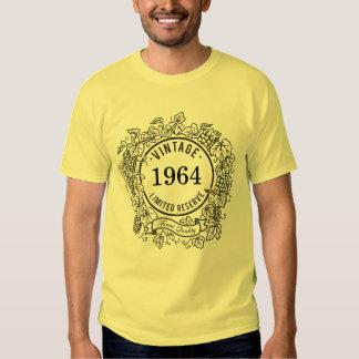 Vintage Grapevine Wine Stamp, Add Birth Year T Shirts
