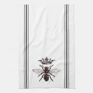 Bee Kitchen Hand Towels Zazzle