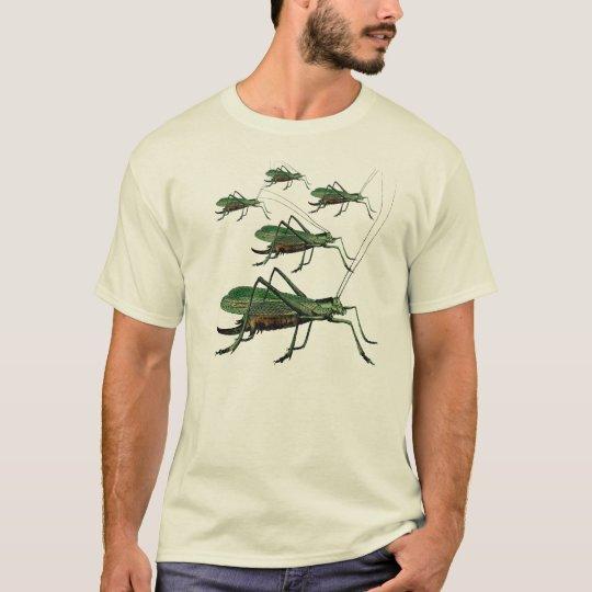Vintage Grasshopper / Katydid for Bug Lovers T-Shirt