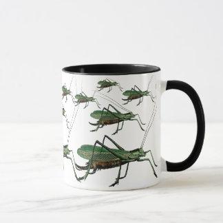 Vintage Grasshoppers, Katydids, Bush Crickets Mug