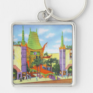 Vintage Grauman's Chinese Theater Keychain