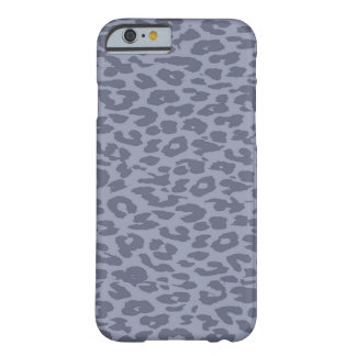 Vintage Gray Animal of leopard Barely There iPhone 6 Case