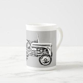 Vintage Gray massey fergison tractor Bone China Mug