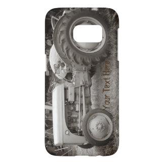 Vintage Gray massey fergison tractor photo Case-Ma Samsung Galaxy S7 Case