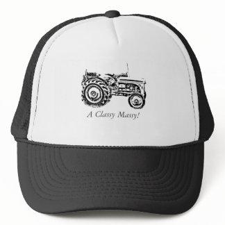 vintage Gray massey fergison tractor photo Trucker Hat