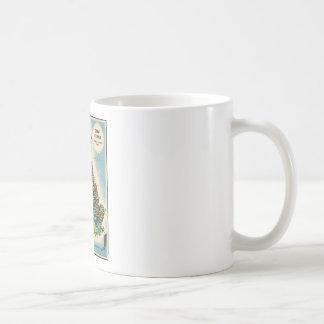 Vintage Great Britain Resources Map Coffee Mug