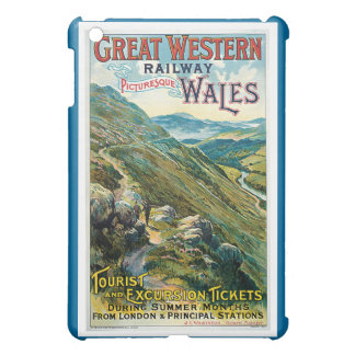 Vintage Great Western Railway Travel Case For The iPad Mini