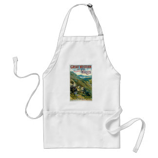 Vintage Great Western Railway Travel Poster Aprons